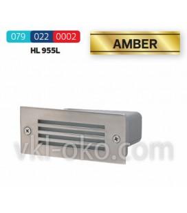 Светильник тротуарный Horoz Amber HL 955L 1.2W встраиваемый
