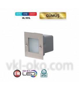 Светильник лестничный светодиодный Horoz GUMUS HL 951L 0.9W