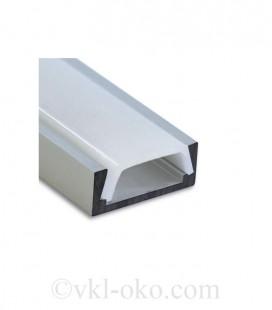Профиль накладной для светодиодной ленты Feron CAB262
