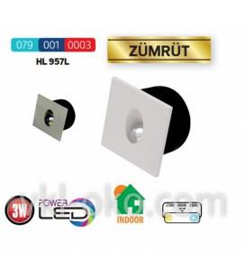 Светильник лестничный светодиодный Horoz ZÜMRÜT HL 957L 3W