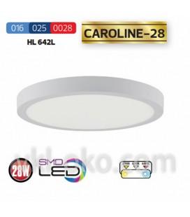 Накладной светодиодный светильник CAROLINE-28 28W (круг)