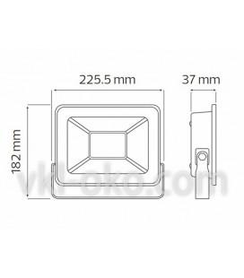 Прожектор светодиодный LED HOROZ PUMA-30 30W 6400K (холодный белый)