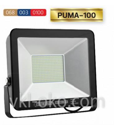 Прожектор светодиодный LED HOROZ PUMA-100 100W 6400K (холодный белый)