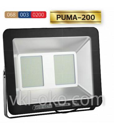 Прожектор светодиодный LED HOROZ PUMA-200 200W 6400K (холодный белый)