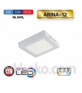 """Накладной светодиодный Led светильник Horoz """"ARINA - 12"""" 12W"""
