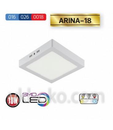"""Накладной светодиодный Led светильник Horoz """"ARINA - 18"""" 18W"""