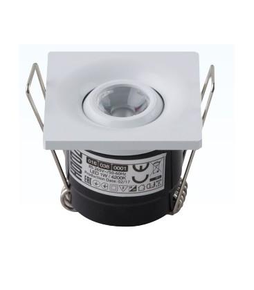 Светильник точечный LED Horoz LAURA 1W