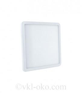 Светильник светодиодный Biom CL-S12-5 12W квадратный