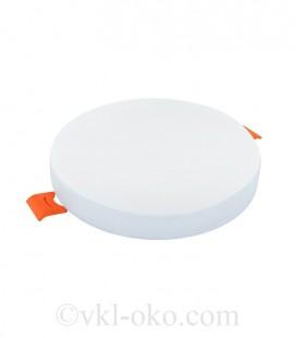 Светильник светодиодный Biom UNI-R12W-5 12W круглый