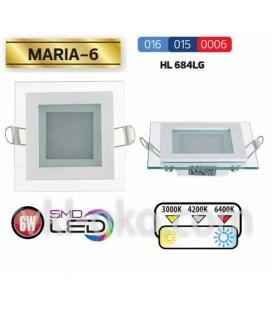 Светильник потолочный LED Horoz MARIA-6W HL 684LG