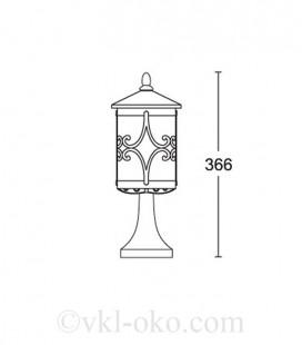 Светильник парковый Lusterlicht Cordoba III 1764