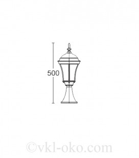 Светильник парковый Lusterlicht Dallas I 1314