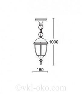 Светильник парковый Lusterlicht Dallas II 1280S