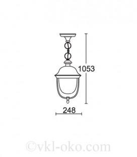 Светильник парковый Lusterlicht Real II 1505L