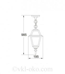 Светильник парковый Lusterlicht Wimbledon I 1115S