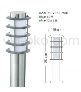 Светильник садово-парковый  Horoz LADIN-3 IP44 E27 60W