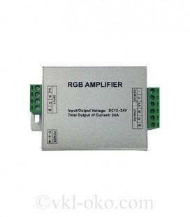 Усилитель светодиодной ленты RGB HOROZ AMPLIFIER 24A