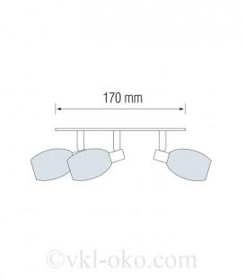 Светильник настенно-потолочный Horoz MANAVGAT-4