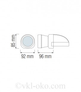 Фонарь светодиодный налобный Horoz BECKHAM-1 1W