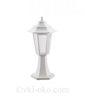Светильник садово-парковый Horoz Begonya-1 белый