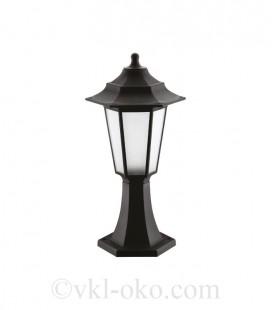 Светильник садово-парковый Horoz Begonya-1 черный
