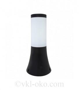 Светильник садово-парковый Horoz ORCHID-1 черный