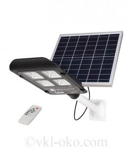 Уличный светодиодный светильник Horoz LAGUNA-50 50W с солнечной панелью