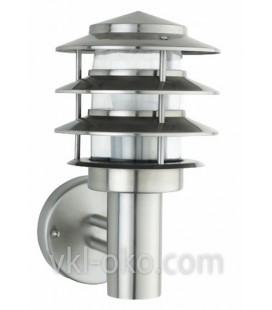 Светильник садово-парковый Horoz KAYIN-2 IP44 E27 60W хром мат.