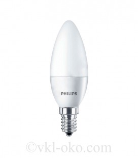 Светодиодная лампа Philips ESS LED Candle 8W E14 B38 NDFRRCA