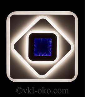 Люстра светодиодная SL-5520/500 WT 126W+10W-RGB