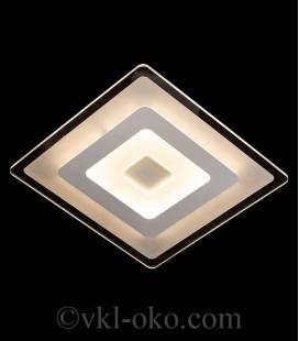 Люстра светодиодная SC-8418/500*500 WH 45W*2 DIMMER