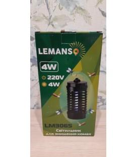 Уничтожитель насекомых Lemanso LM3065 против комаров на 20 кв.м 4Вт
