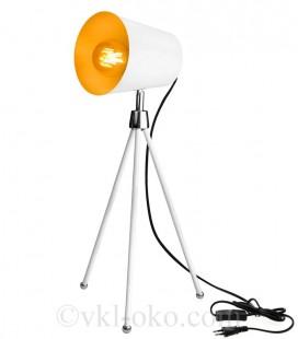 Настольная декоративная лампа SWT-25112 WH E27