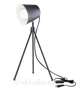Настольная декоративная лампа SWT-2038 GY E27 серая