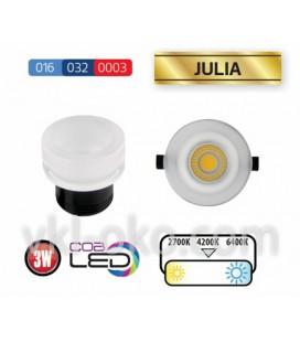 Светильник точечный LED Horoz Julia 3W