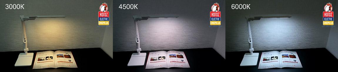Светодиодная настольная лампа Horoz EBRU Touch Premium 10W